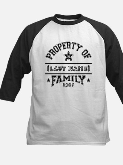 Family Property Kids Baseball Jersey