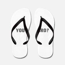 You mad bro-Akz gray Flip Flops