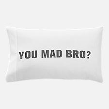 You mad bro-Akz gray Pillow Case
