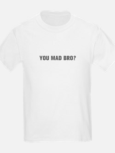 You mad bro-Akz gray T-Shirt