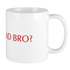 You mad bro-Opt red Mugs
