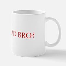 You mad bro-Opt red Mugs