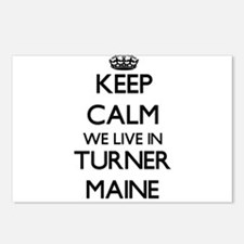 Keep calm we live in Turn Postcards (Package of 8)