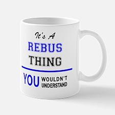 Cute Rebus Mug