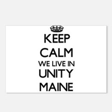 Keep calm we live in Unit Postcards (Package of 8)