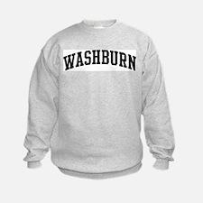WASHBURN (curve-black) Sweatshirt
