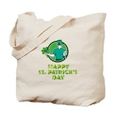 Irish Rugby St. Patrick's Day Tote Bag
