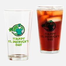 Irish Rugby St. Patrick's Day Drinking Glass