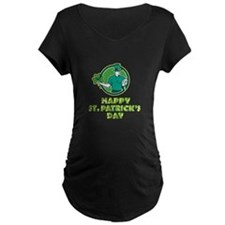 Irish Rugby St. Patrick's Day Maternity T-Shirt