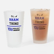 Funny Rham Drinking Glass
