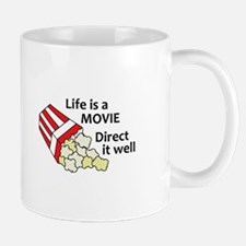 LIFE IS A MOVIE Mugs