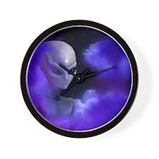 Alien Star Wall Clock