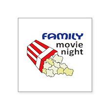 FAMILY MOVIE NIGHT Sticker