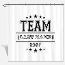 Team Family Shower Curtain