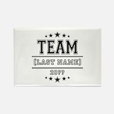 Team Family Rectangle Magnet (10 pack)
