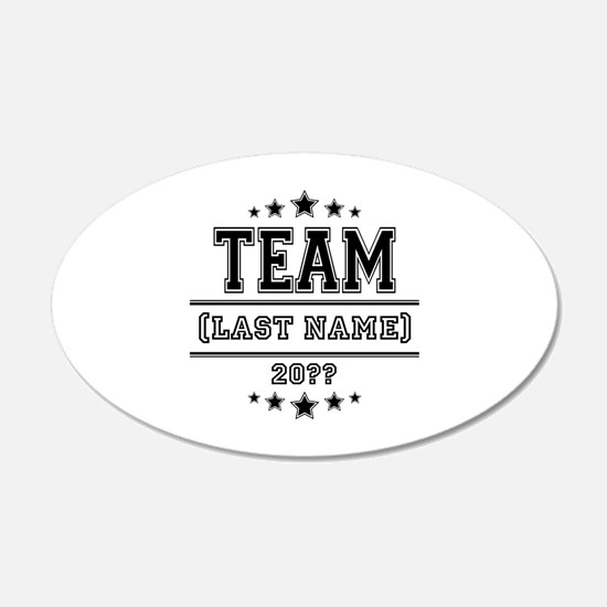 Team Family Decal Wall Sticker