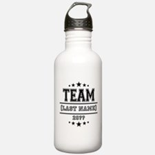 Team Family Sports Water Bottle