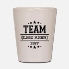 Team Family Shot Glass