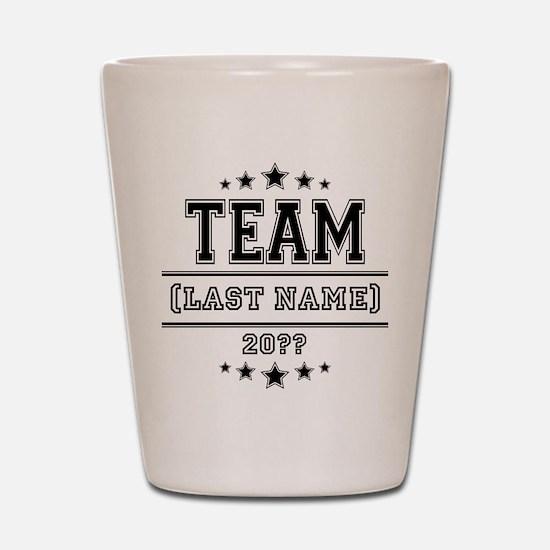 Team Family Shot Glass