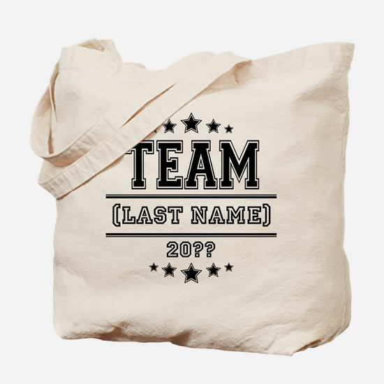 Team Family Tote Bag