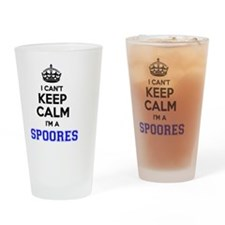 Funny Spoor Drinking Glass