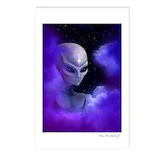 Alien Star Postcards (Package of 8)