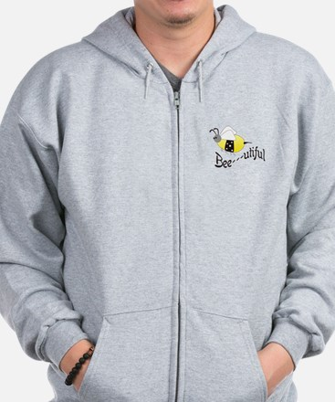 BEEUTIFUL BEAUTIFUL BEE Zip Hoodie