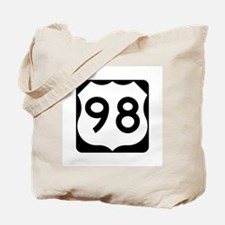US Route 98 Tote Bag
