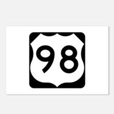 US Route 98 Postcards (Package of 8)