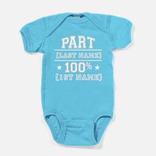 100 Percent Me Baby Bodysuit