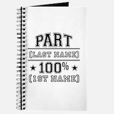 100 Percent Me Journal