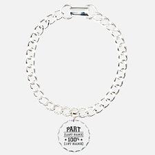 100 Percent Me Charm Bracelet, One Charm