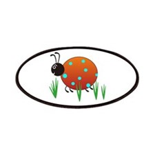 LADYBUG IN GRASS Patch