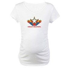 GREAT GRANDPA (retro-star) Shirt
