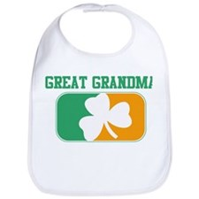 GREAT GRANDMA (Irish) Bib