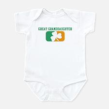 GREAT GRANDDAUGHTER (Irish) Infant Bodysuit