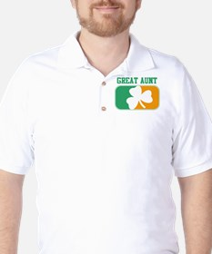 GREAT AUNT (Irish) Golf Shirt