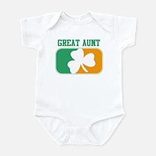 GREAT AUNT (Irish) Infant Bodysuit