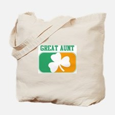GREAT AUNT (Irish) Tote Bag