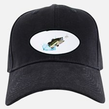 BASS AFTER DRAGONFLY Baseball Hat