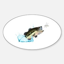 BASS AFTER DRAGONFLY Decal
