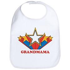 GRANDMAMA (retro-star) Bib