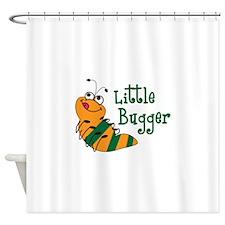 LITTLE BUGGER Shower Curtain