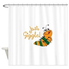 JUST GIGGLE Shower Curtain