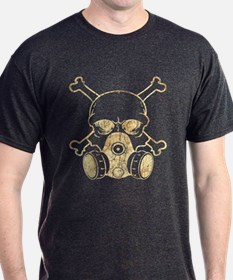 Chemical Warfare Skull Grunge T-Shirt