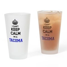 Cute Tacoma Drinking Glass