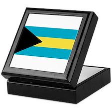 Bahamas Flag Keepsake Box