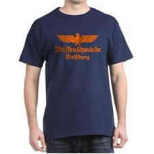 Waffenschmiede Wolfsburg Orange T-Shirt