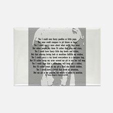 Funny Apbt Rectangle Magnet (100 pack)