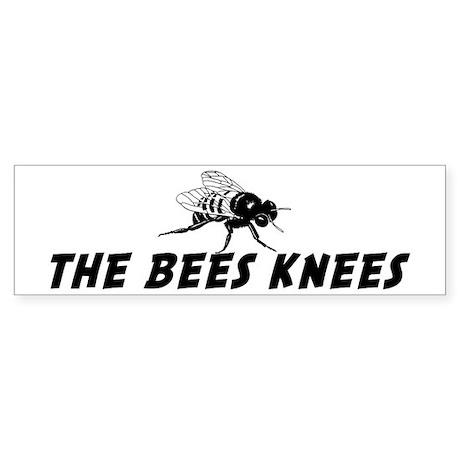 The Bees Knees Bumper Sticker